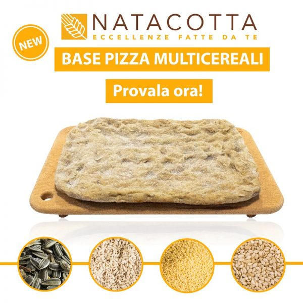 base pizza multicereali