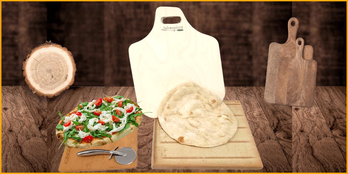 pietra refrattaria per pizza pane o dolci